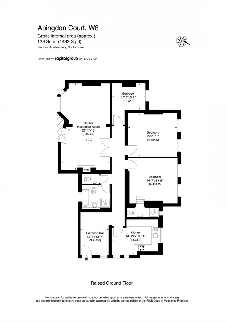 Floorplans For Abingdon Villas, Kensington, W8